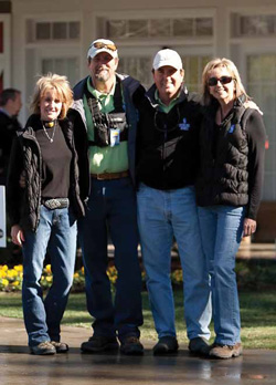 Left to Right in photo: Missy Dill, Harry Dill, Clinch Heyward, and Barbara Heyward