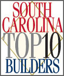 South Carolina Top 10 Builder logo